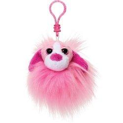 Pompon różowy pies
