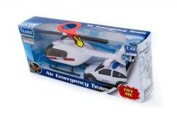 Helikopter ratunkowy 1:48 + auto biały