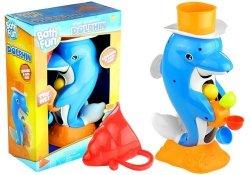 Delfin kołowrotki zabawka do wanny basenu fontanna