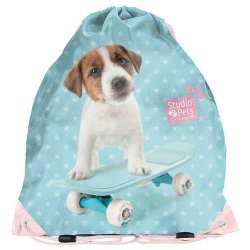 Worek na buty Studio Pets Pies na deskorolce