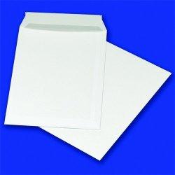 Koperty z taśmą silikonową C4 229x324mm 90gsm 50szt białe