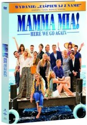 Mamma Mia Here We Go Again DVD+booklet