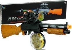 Karabin AK 868-1 świeci gra 60 cm