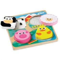 Puzzle Sensoryczne - Farma
