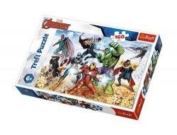 Puzzle Avengers Gotowi by ratować świat 160