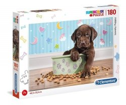 Puzzle Supercolor Lovely Puppy 180