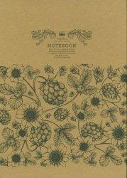 Notatnik ozdobny Beautiful Garden 80 stron w kratkę