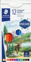 Kredki ołówkowe sześciokątne Desing journey 12 kolorów