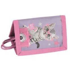 Portfel Studio Pets fioletowo-różowy
