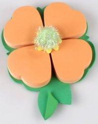 Kwiatek - karteczki samoprzylepne