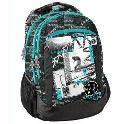 Plecak młodzieżowy Maui and Sons zielono-czarny MAUB-2808