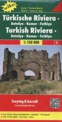 Mapa Turecka Riwiera Antalya-Fethiye 1: 150 000