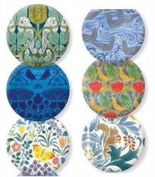 Lusterko ozdobne Voysey Arts & Crafts