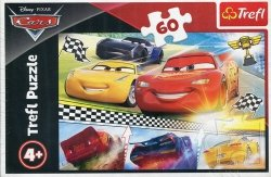 Puzzle 60 Legendarny wyścig Disney Cars 3