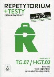Repetytorium i testy egzaminacyjne Kwalifikacja TG.07/HGT.02 Egzamin zawodowy