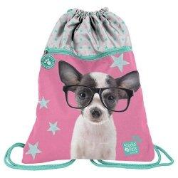 Worek na buty Studio Pets chihuahua w okularach