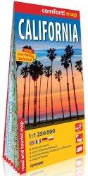Kalifornia mapa samochodowo-turystyczna 1:1 250 000