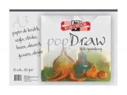Blok rysunkowy Pop Draw A3 30 arkuszy 180g