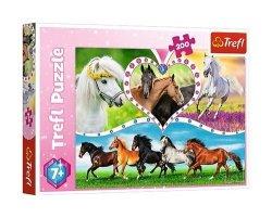 Puzzle Piękne konie 200