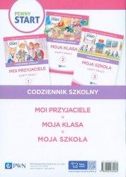 Pewny start Codziennik szkolny Karty pracy 1-3