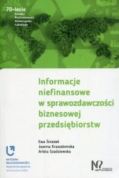 Informacje niefinansowe w sprawozdawczości biznesowej przedsiębiorstw