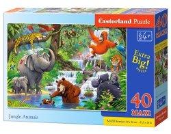 Puzzle maxi Jungle Animals 40