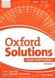 Oxford Solutions Upper-Intermediate Workbook + Online Practice
