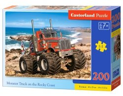 Puzzle Monster Truck o the Rocky Coast 200