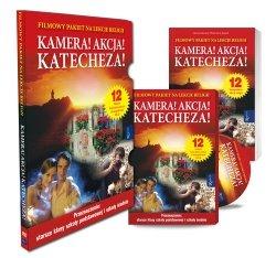 Kamera Akcja Katecheza Filmowy pakiet na lekcje religii -DVD