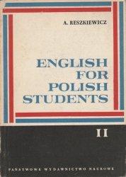 English For Polish Students II