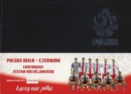 PZPN Polska Biało czerwoni Karty do gry Zestaw kolekcjonerski
