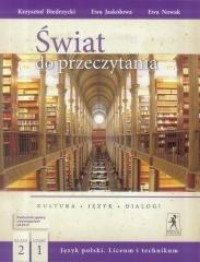 J.Polski LO Świat do przeczytania 2/1 w.2018 NPP