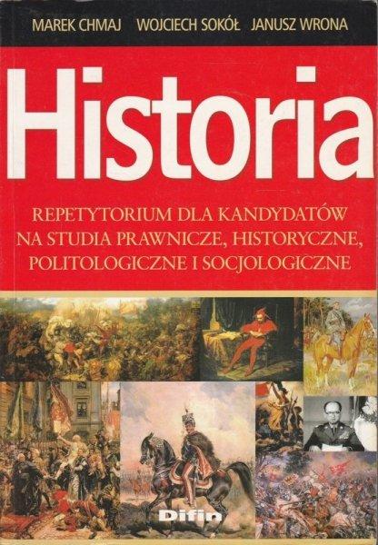 Historia Repetytorium dla kandydatów na studia prawnicze historyczne politologiczne i socjologiczne