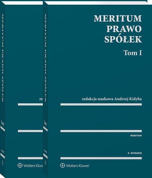 MERITUM Prawo spółek Tom 1-2
