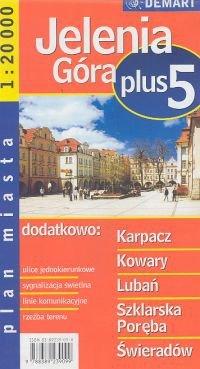 Jelenia Góra Plus 5  Plan miasta