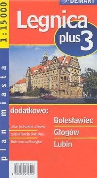 Legnica Plus 3 Plan miasta