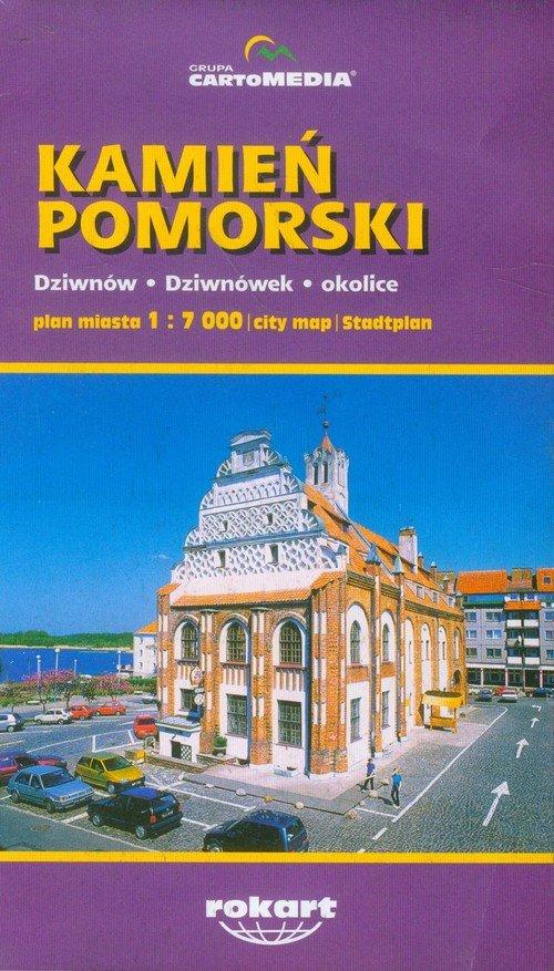 Kamień Pomorski plan miasta