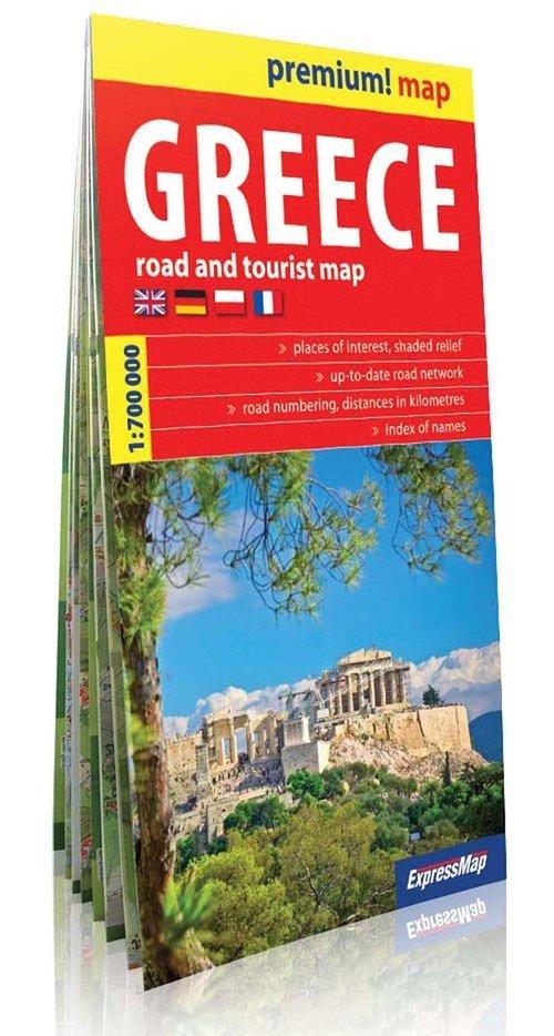 Greece mapa samochodowo-turystyczna 1:750 000
