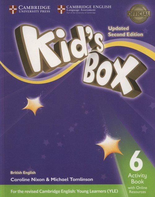 Kid's Box 6 Activity Book + Online