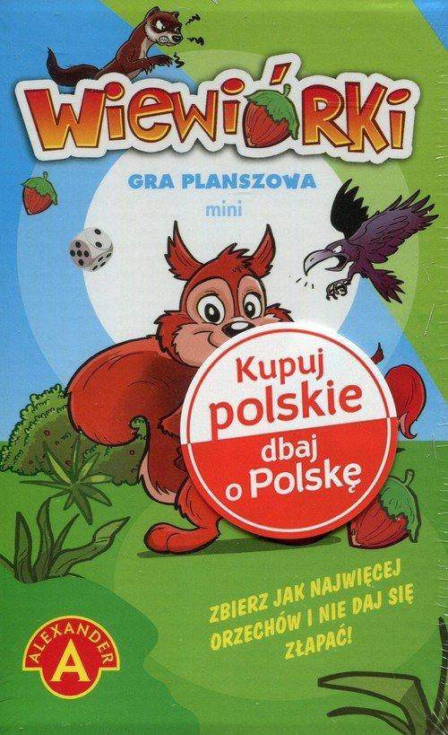 Wiewiórki mini Gra planszowa