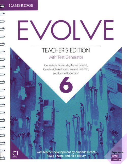 Evolve 6 Teacher's Edition with Test Generator