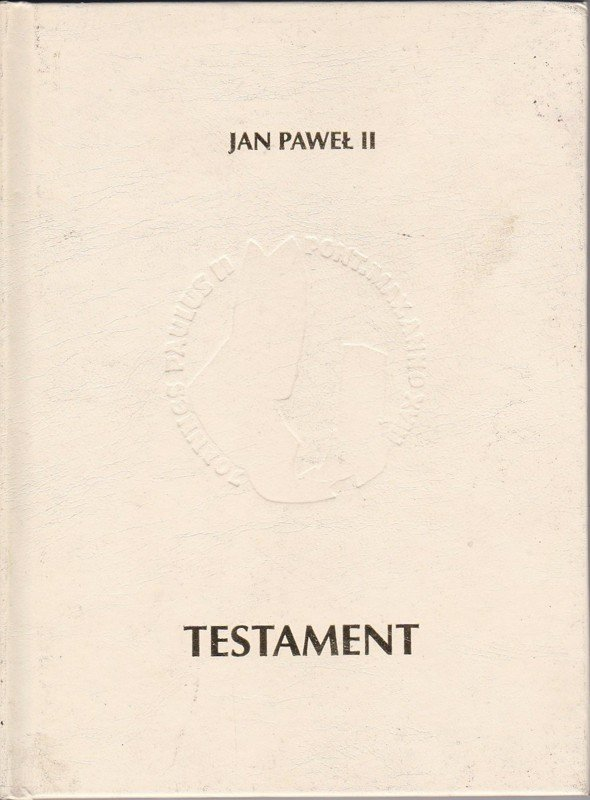 Testament Jan Paweł II