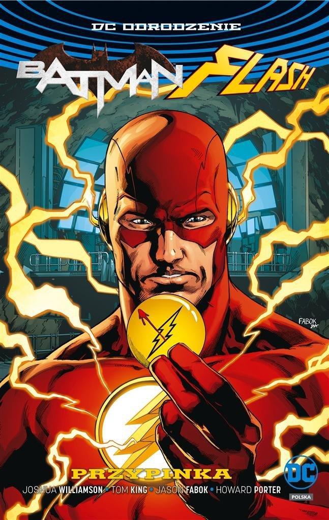 Batman Flash Przypinka (okładka z Flashem)