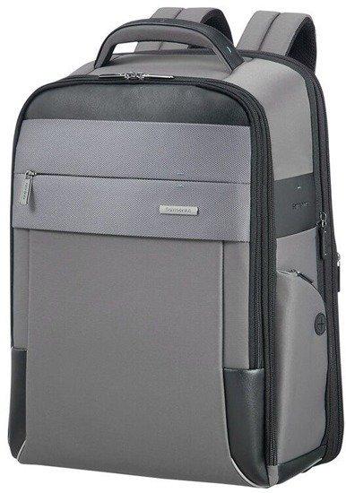 """Plecak na laptopa 17,3"""" wykonany z nylonu i poliestru oraz poliuretanu"""