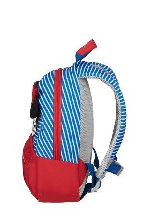 Plecak posiada górny uchwyt. Plecak idealny dla wieku od 2 do 4 roku życia
