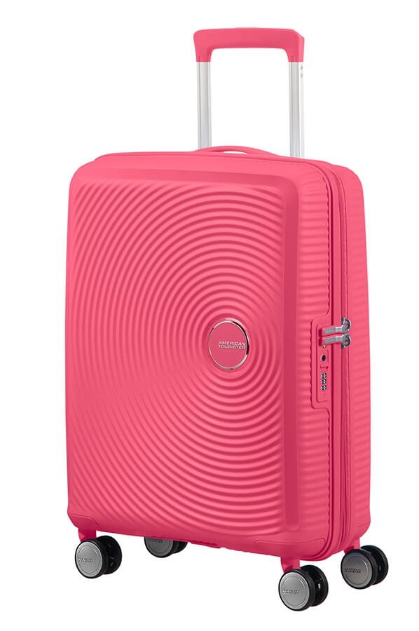 Walizka podręczna SOUNDBOX-SPINNER 55/20 TSA EXP Hot pink