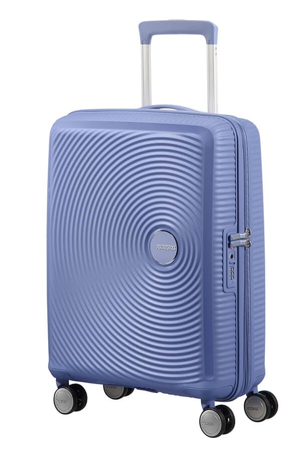 - Polipropylen, z którego wykonana jest ta walizka, sprawia że jest ona lekka, a zarazem wytrzymała. Zamykana na suwak i zamek szyfrowy TSA