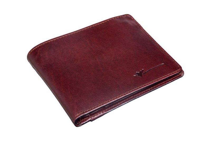 portfel wykonany ze skóry bydlęcej licowanej