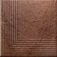 Solar Brown Steptread Corner 3d 30x30