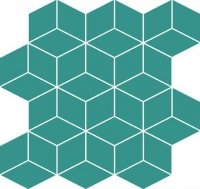 Colour Blink Mosaic Diamond Turquoise 28x29,7